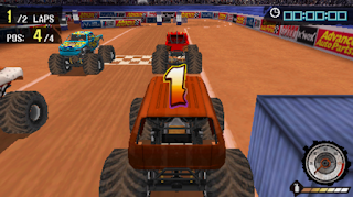 Game Monster Jam Path Of Destruction PPSSPP ISO Full Version For Android