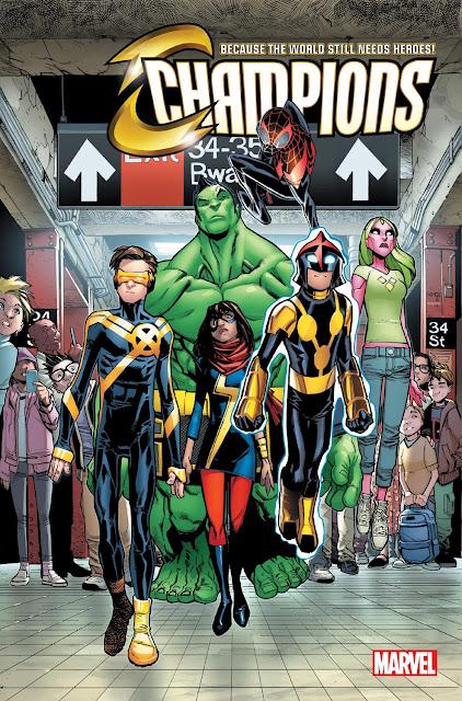 marvel champions comics