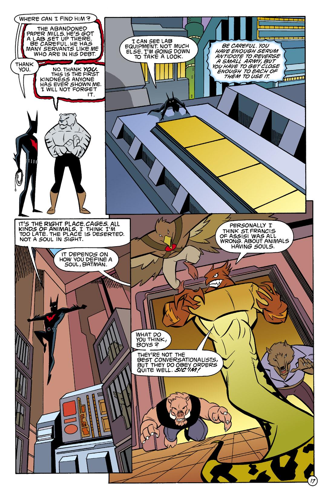 Batman Beyond [II] Issue #3 #3 - English 18
