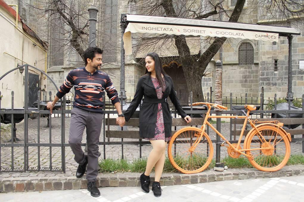 Actress Anushka Shetty Surya Stills From S3 Movie