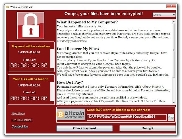 WanaCrypt or WanaUpgrade your IT ?