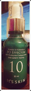"[IT""S SKIN] Power 10 formula PO effector- recenzja"