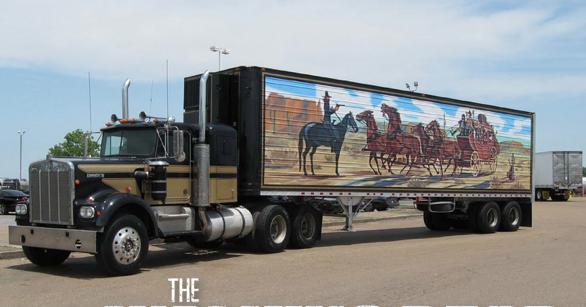 Semi Truck: Smokey And The Bandit Semi Truck