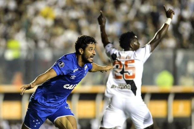 Libertadores: em São Januário, Cruzeiro elimina o Vasco com goleada