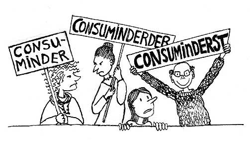wegschuld consuminderen