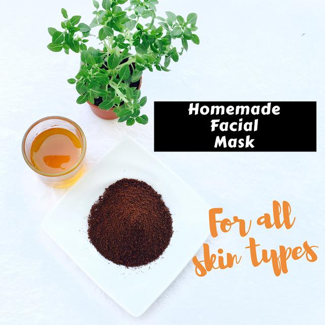 mascara de rosto caseira l Homemade Facial Mask