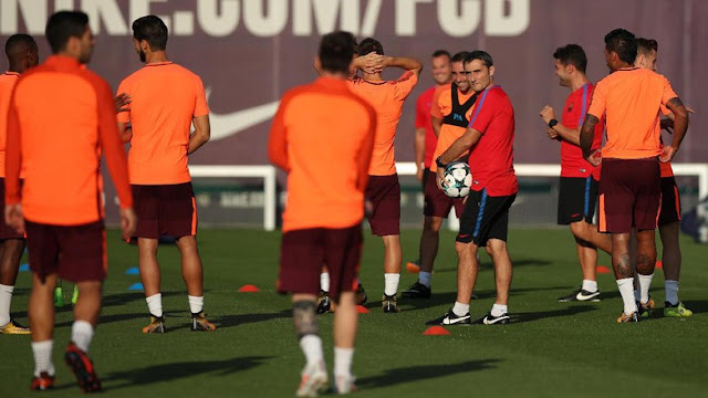 Jelang Barcelona Vs Olympiakos: Valverde Waspadai Serangan Balik Olympiakos