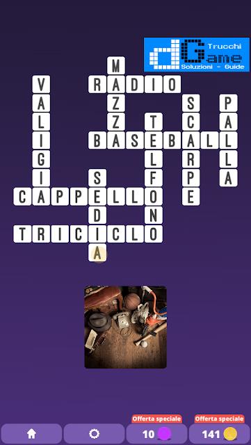 Soluzioni One Clue Crossword livello 19 schemi 9 (Cruciverba illustrato)  | Parole e foto