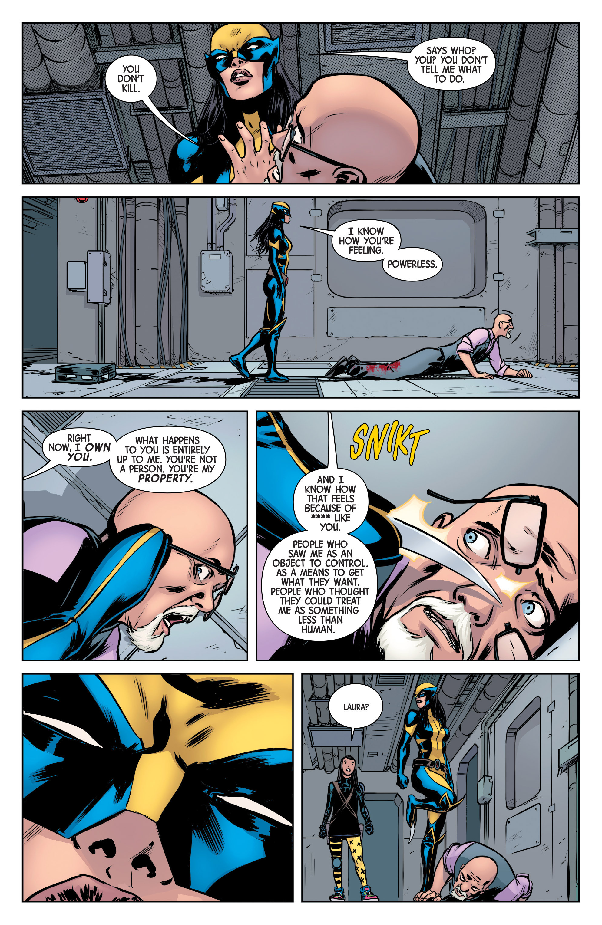 Read online All-New Wolverine (2016) comic -  Issue #6 - 18