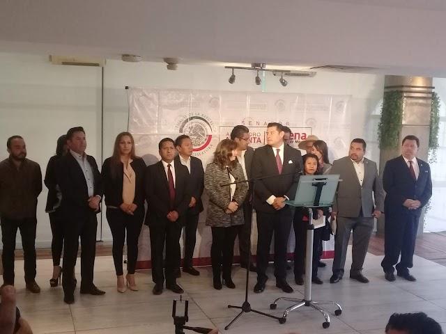 Respaldan diputados al senador Armenta