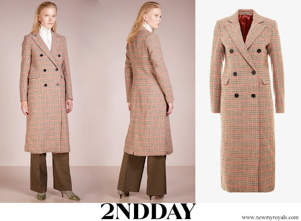 Princess Sofia wore 2ndDay Checked Duster Coat