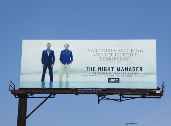 The Night Manager 2016 Emmy FYC billboard