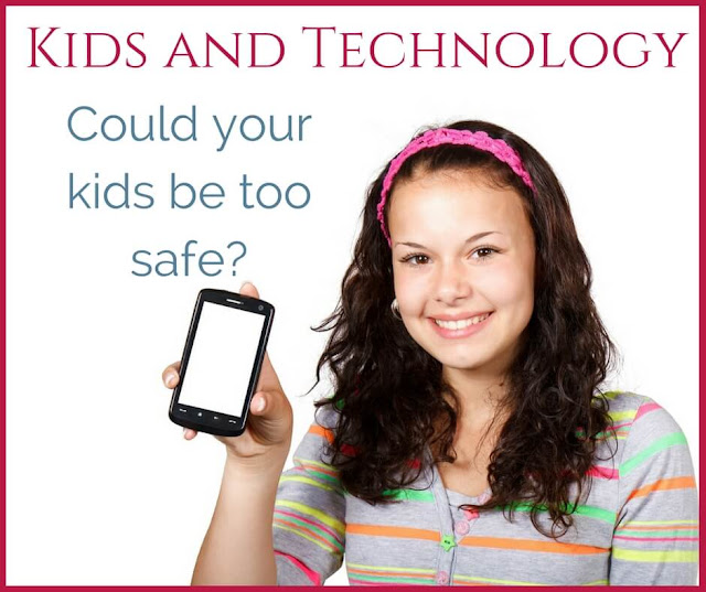 Kids and technology- principles of keeping them safe