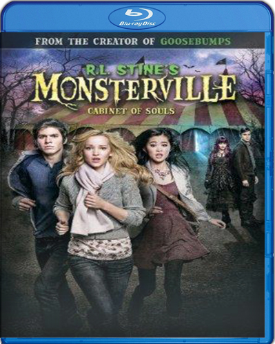 R.L. Stine's Monsterville: The Cabinet of Souls [BD25] [2015] [Latino]
