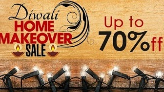 Fabfurnish Diwali Home Makeover Sale: Upto 70% Off + Extra Rs.200 or 20% Off on Home Decor | Kitchen & Dining | Bed & Bath Product (10% Extra Cashback for CITI Bank Credit Card)