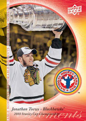 Today is National Hockey Card Day
