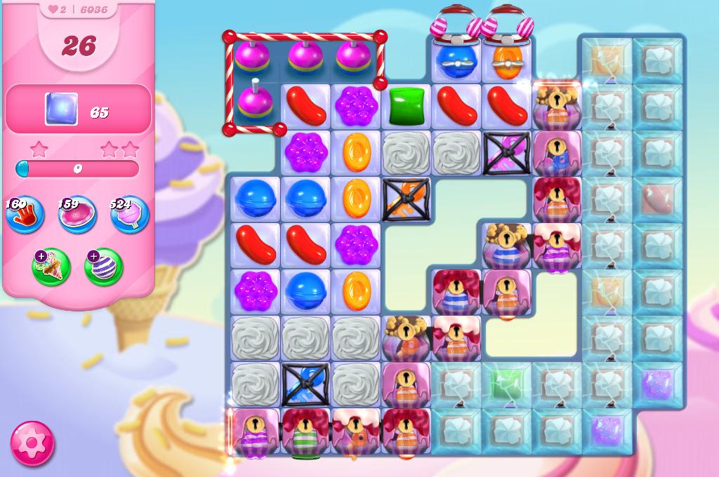 Candy Crush Saga level 6036