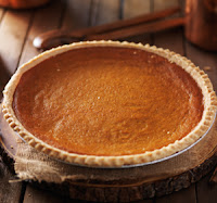 image of yummy pumpkin pie