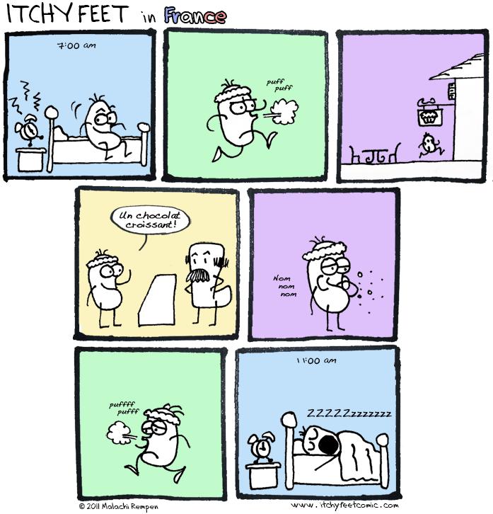 Itchy Feet: Le Éxerçïse