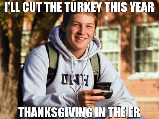 funny thanksgining meme