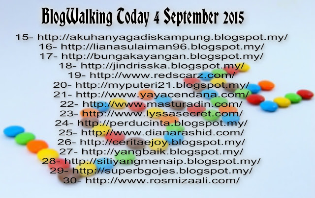 BlogWalking Untuk Hari Ini 4 September 2015