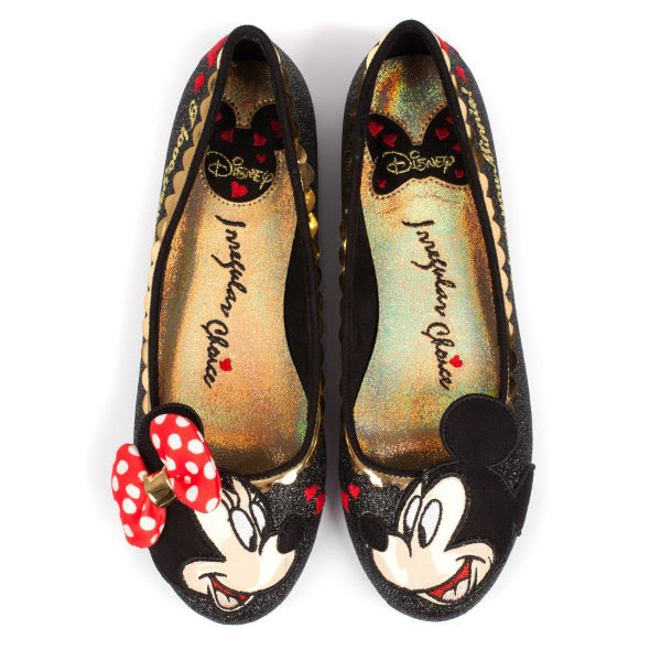 irregular choice disney mickey shoe preview inside