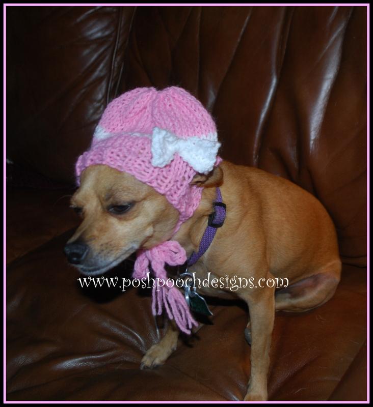 Posh Pooch Designs Dog Clothes  Chihuahua Beanie Hat Knitting ... 69024a62505