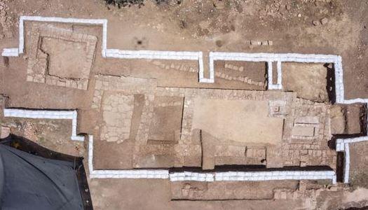 Restos arqueológicos de iglesia bizantina de 1.500 años de antigüedad