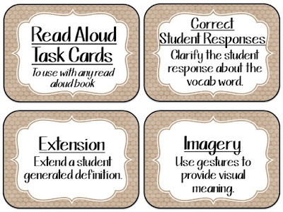 https://www.teacherspayteachers.com/Product/Read-Aloud-Task-Cards-FREEBIE-2644647