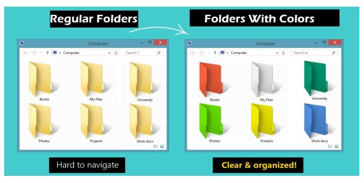 See How to Change Folder Icon Color in Windows