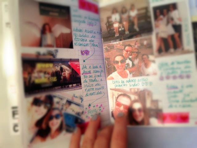 um diário em imagens