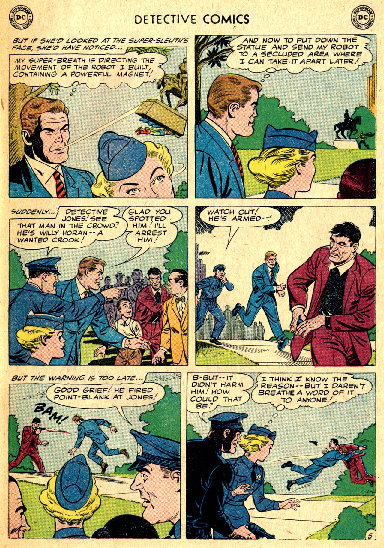 Read online Detective Comics (1937) comic -  Issue #275 - 31
