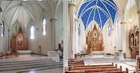 Before and After: St. Mary of the Assumption in Lancaster, Ohio