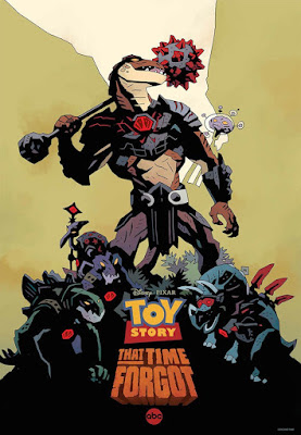 Toy Story That Time Forgot Poster; drawn by comic legend Mike Mingola