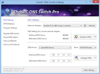 ChrisPC DNS Switch Pro 3.60