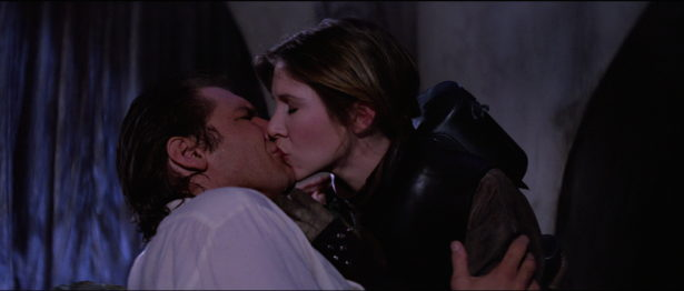 return of the jedi kiss