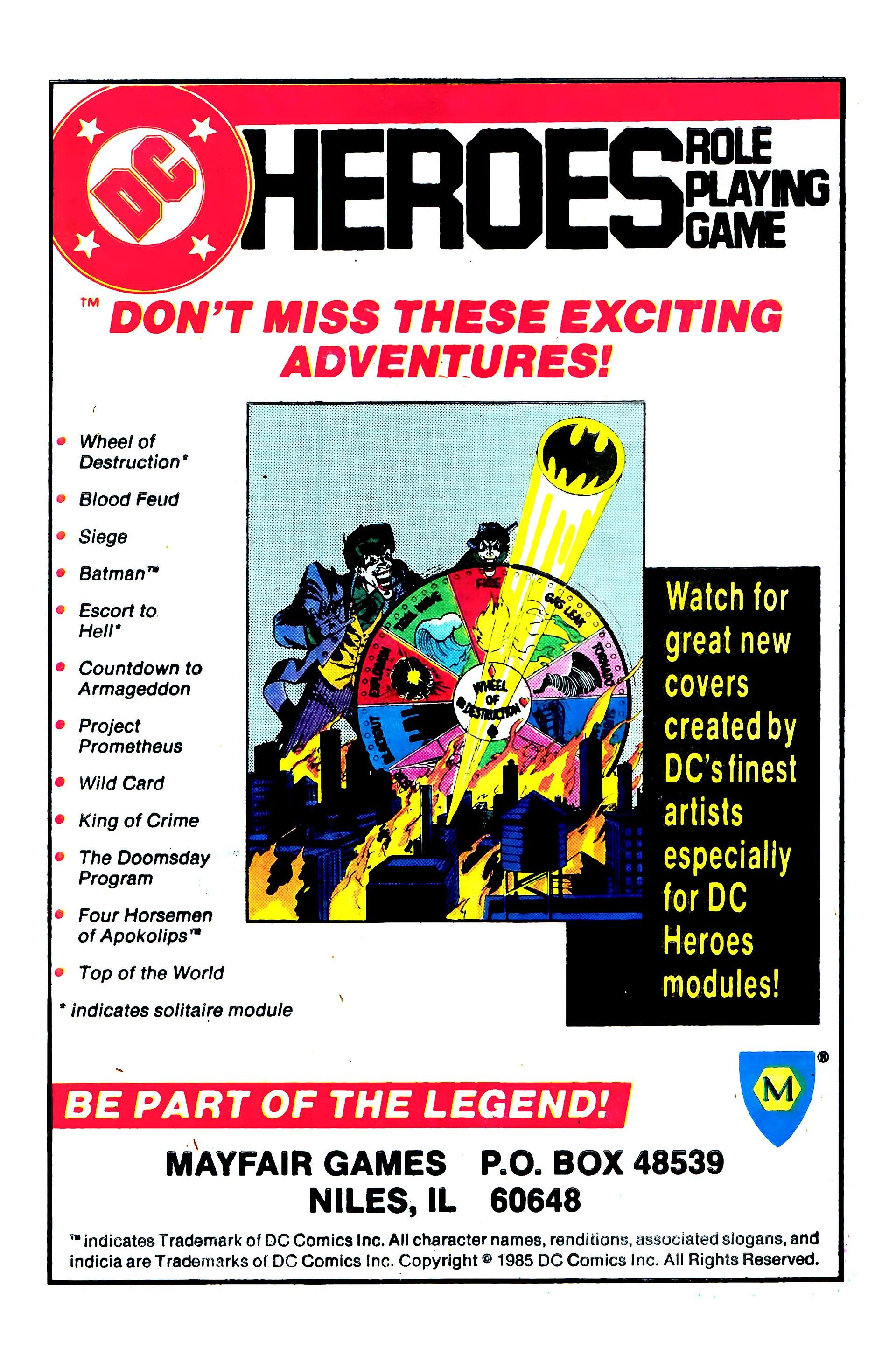 Read online Secret Origins (1986) comic -  Issue #3 - 29