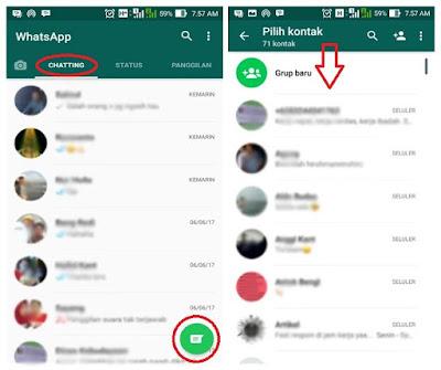 Cara Melihat Kontak WhatsApp, Melakukan Chatting dan Panggilan Terbaru.