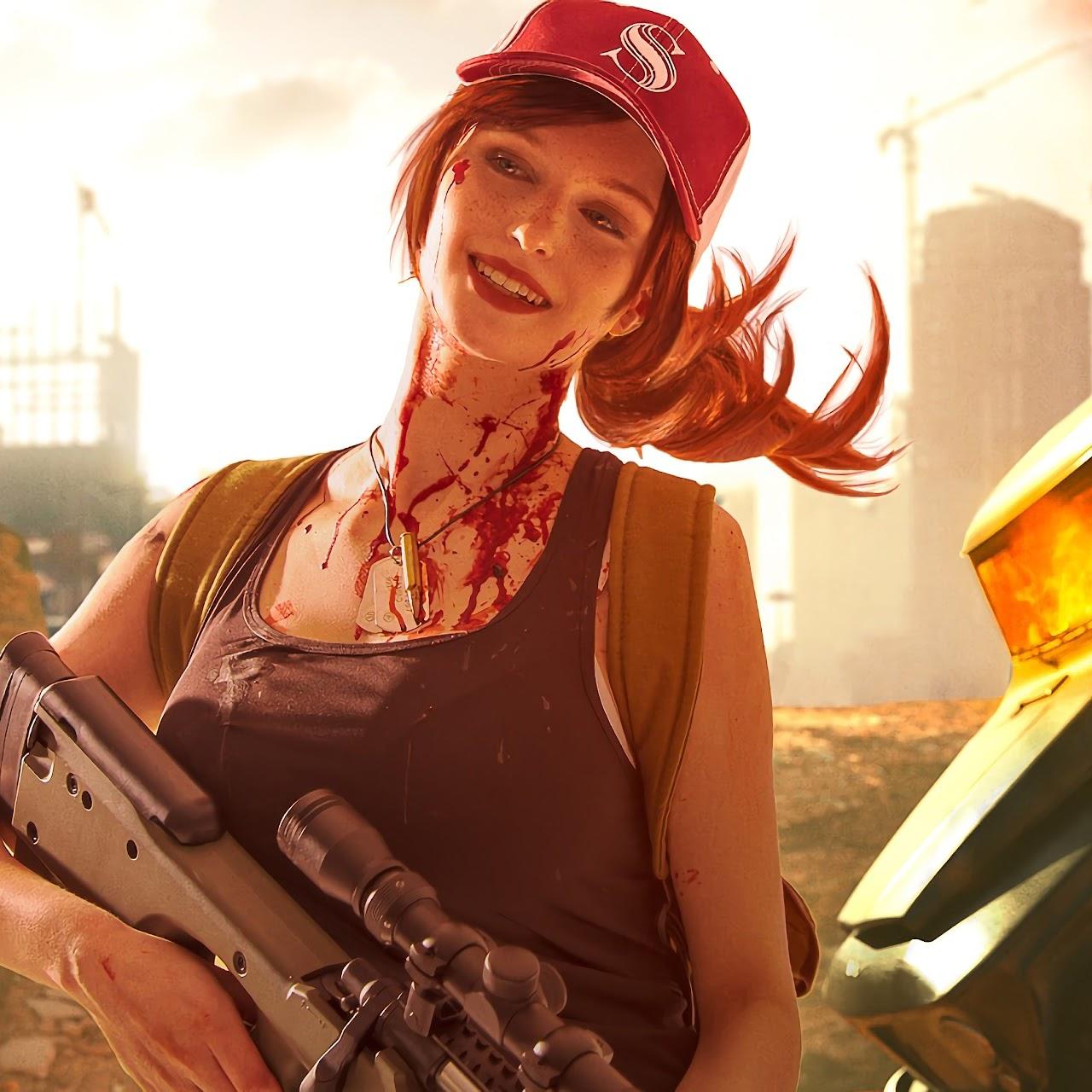 PUBG, Girl, PlayerUnknown's Battlegrounds, 4K, #138 Wallpaper