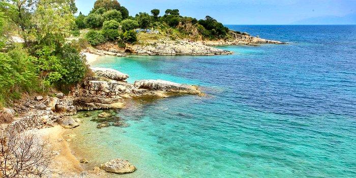 Le spiagge più belle della costa nord-est di Corfù