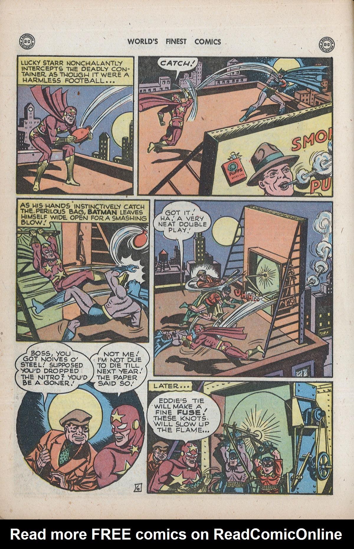 Read online World's Finest Comics comic -  Issue #32 - 8