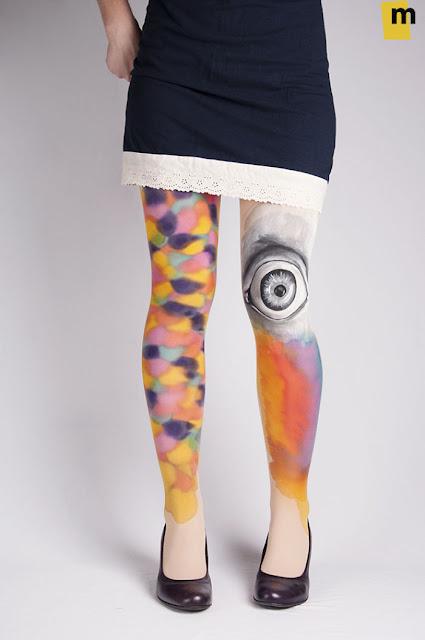 lukisan kaki paling keren kreatif unik dan juga sangat indah-1