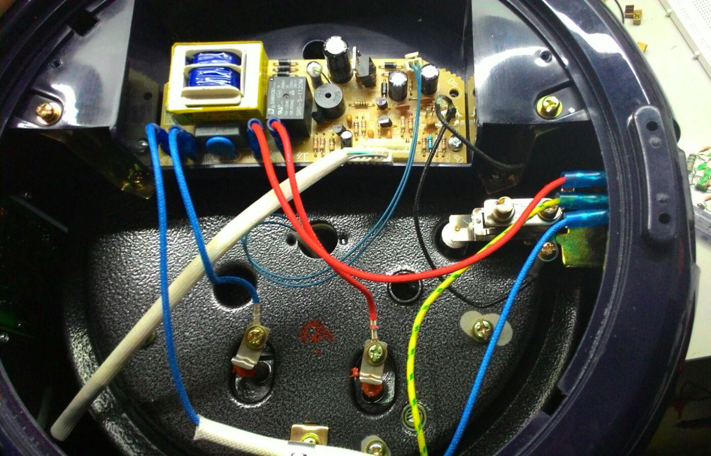 Noxxa Multifunction Pressure Cooker  No Power « DIY