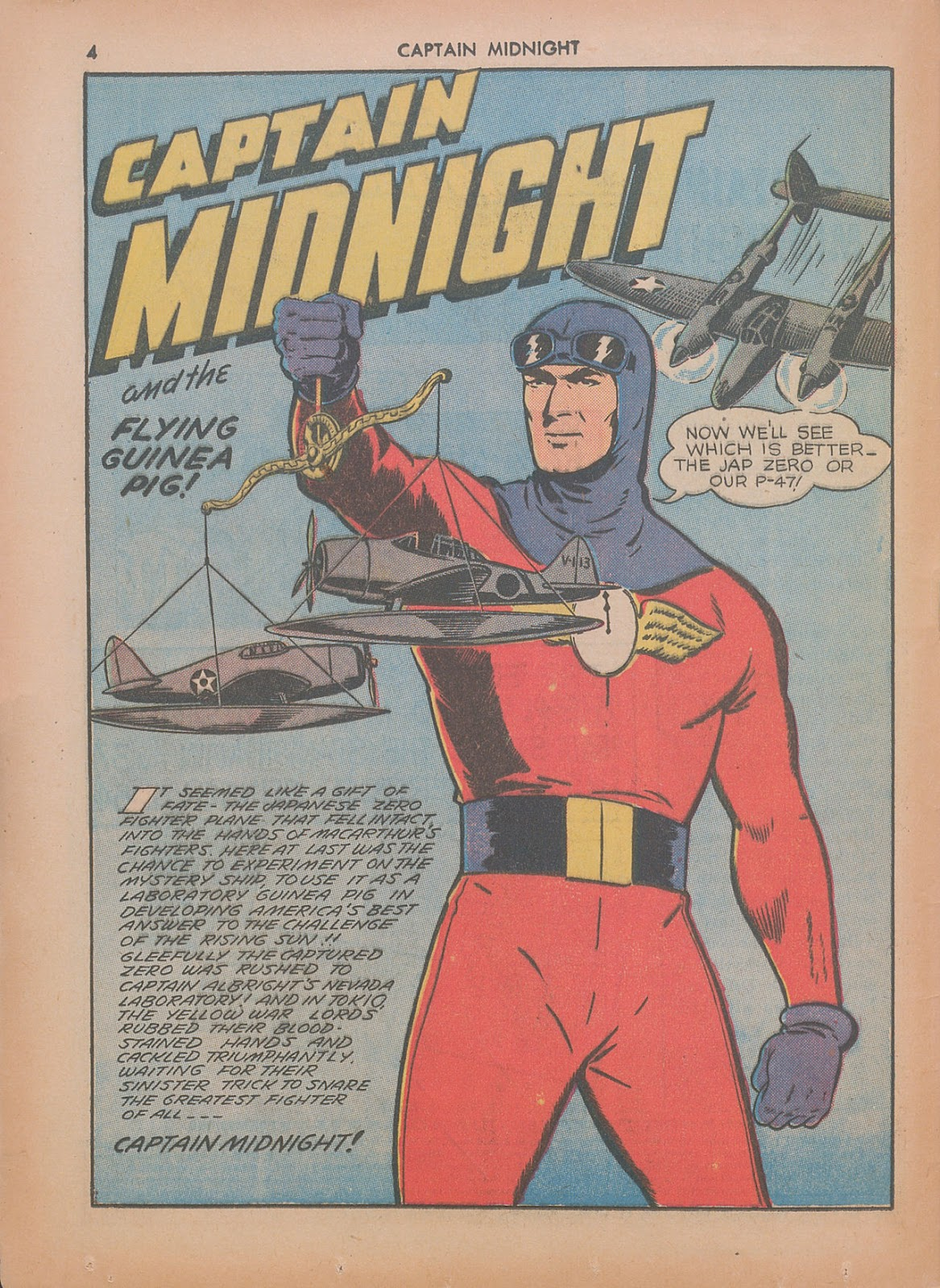 Captain Midnight (1942) issue 7 - Page 4
