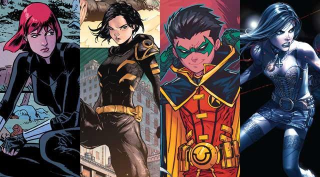Superhero yang sejak kecil dilatih menjadi seorang Assassin