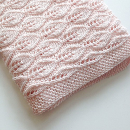 Bella Blanket - Knitting Pattern