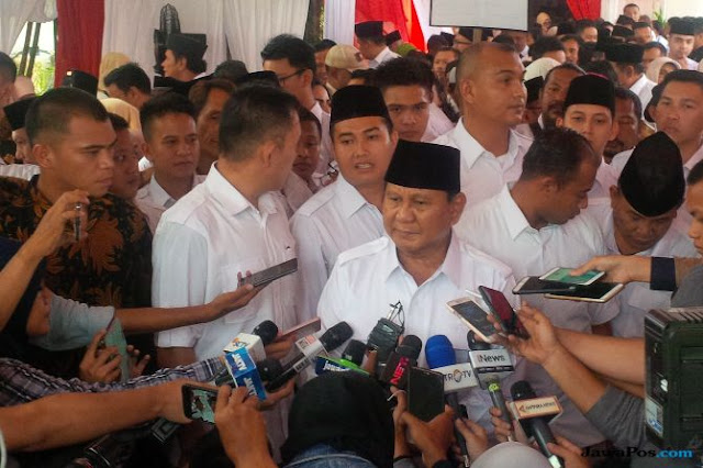 Prabowo: Biar Saya Mati untuk Indonesia yang Penting Rakyat Sejahtera