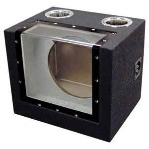 Bandpass adalah box subwoofer serupa ported, yang di buat untuk memiliki area/band frekuensi spesifik lewat cara buang frekuensi yang ada dibawah band serta diatas band.