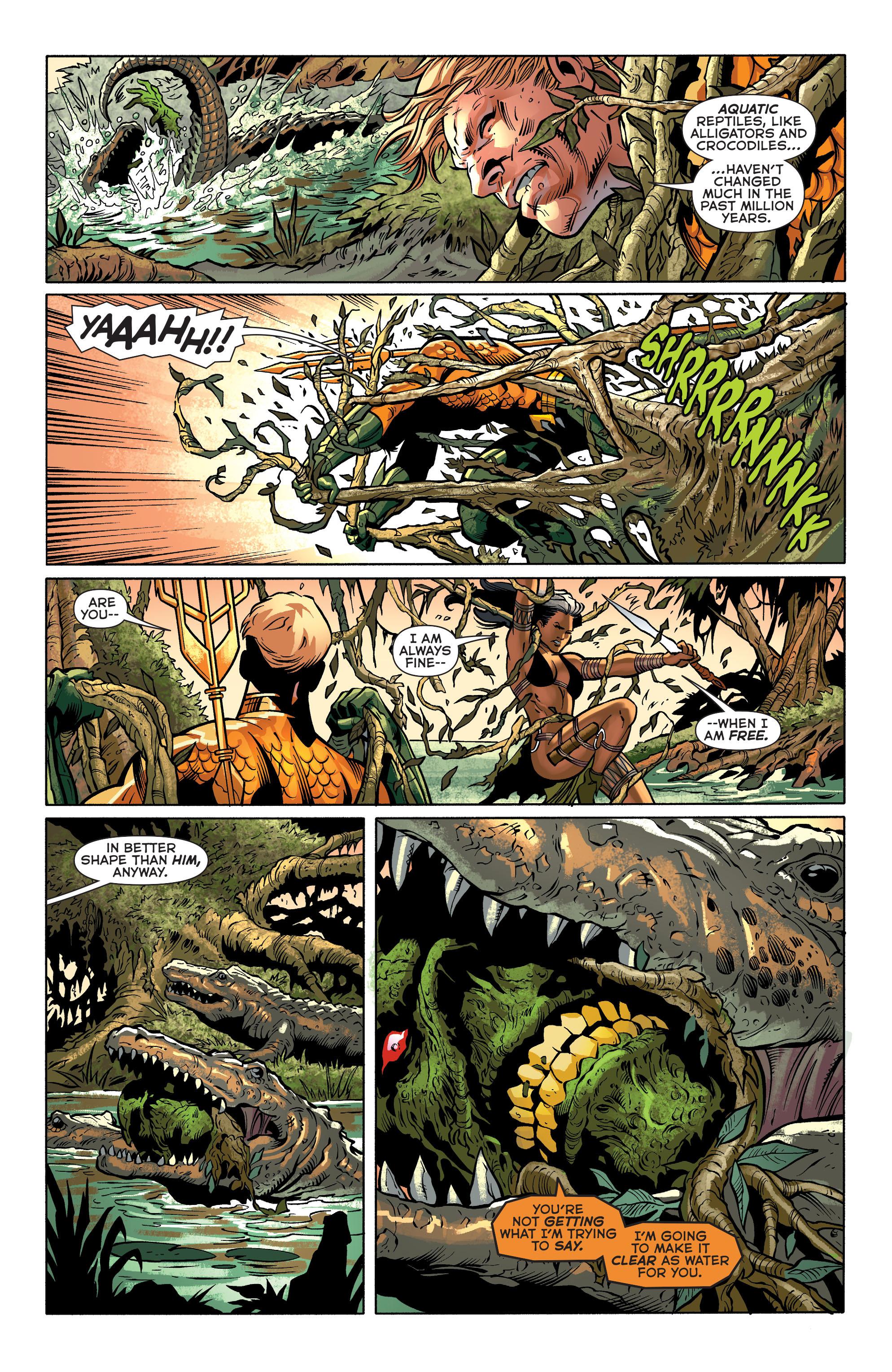 Read online Aquaman (2011) comic -  Issue #31 - 16