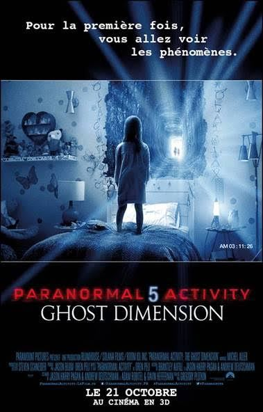 Paranormal Activity 5 Ghost Dimension - Affiche